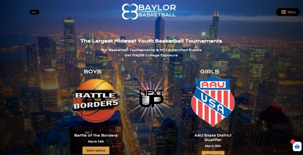 baylor basketball home